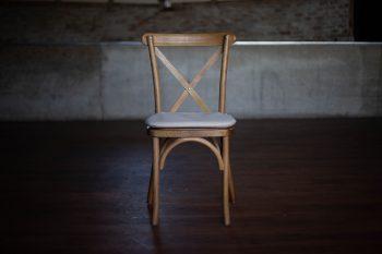 Oak Crossback Chair
